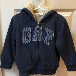 3T Boys Baby Gap Navy Hoodie